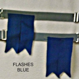 Flashes – Solid Blue