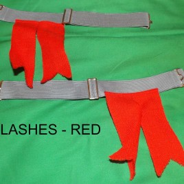 Flashes – Solid Red