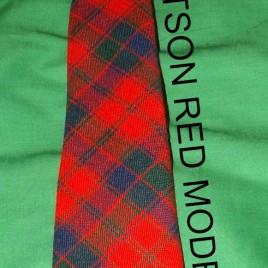 Necktie – Robertson Red Modern