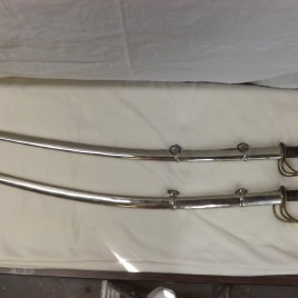 Sword – Saber with Metal Scabbord