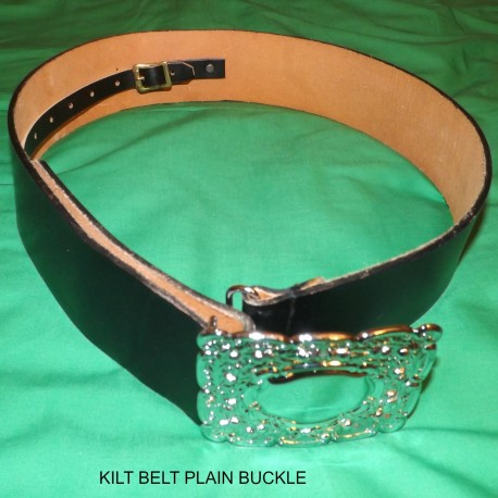 KILT BELT PLAIN BUCKLE