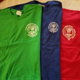 Adult T-Shirt (Red, Blue, or Green)(S,M,L,XL)